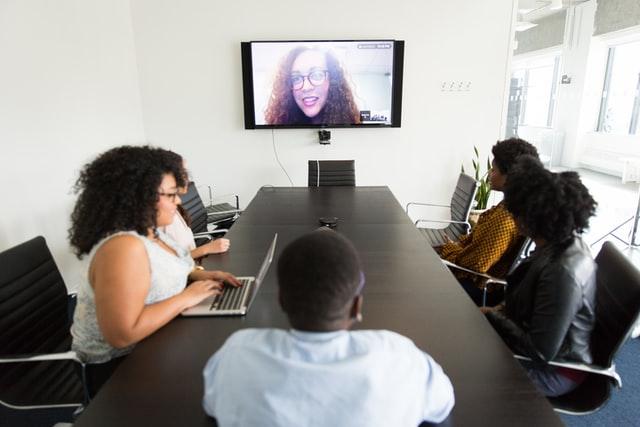 Online meeting avec gsuite